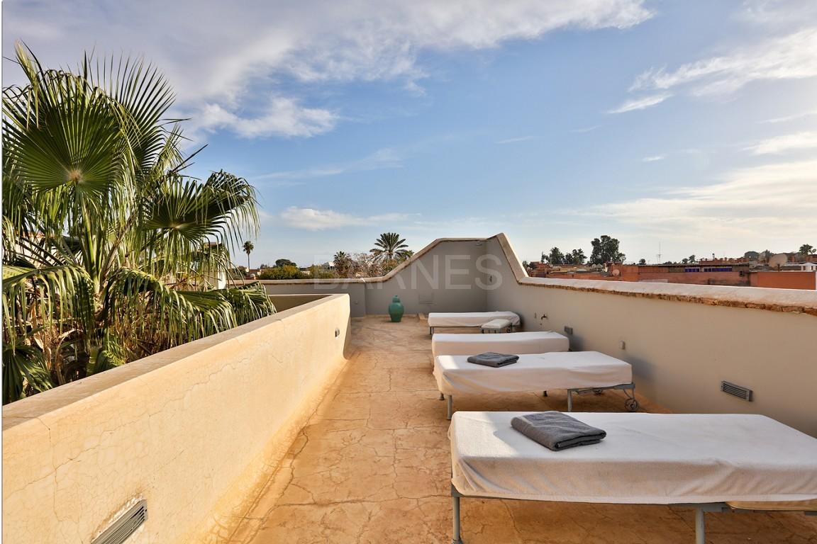 Riad maison d'hôtes, salon, salle à manger, 3 chambres, 3 suites, 6 salles de bains, piscine, terrasse picture 17