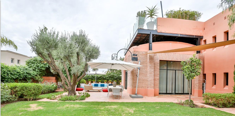 Vente villa Marrakech  Très belle villa sur Golf d'Amelkis, 5ch, toute récemment refaite et décorée avec du mobilier de très grande qualité.  picture 5
