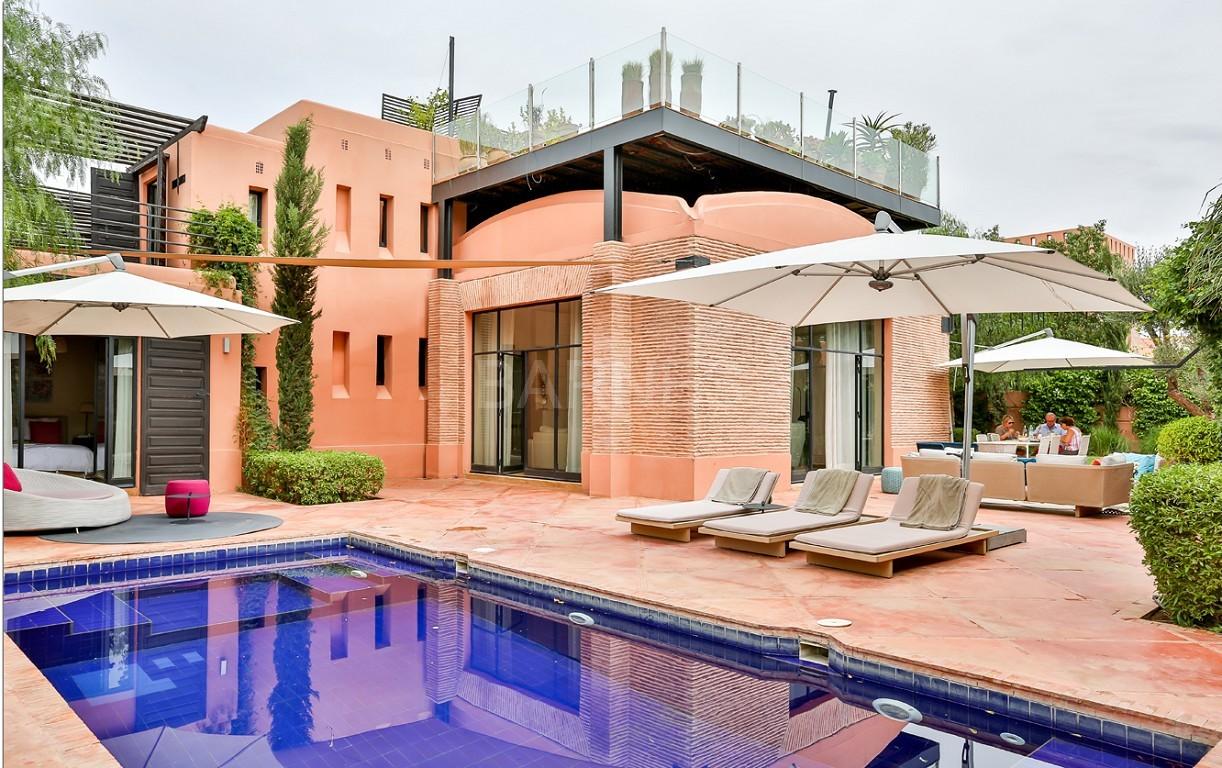 Vente villa Marrakech  Très belle villa sur Golf d'Amelkis, 5ch, toute récemment refaite et décorée avec du mobilier de très grande qualité.  picture 0