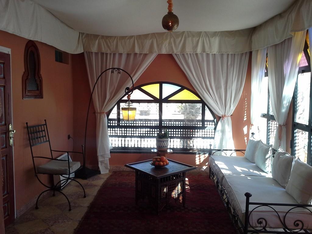 Riad maison d'hôtes, 11 chambres, 11 salles de bains, 2 patios, salons, salle à manger,  picture 7