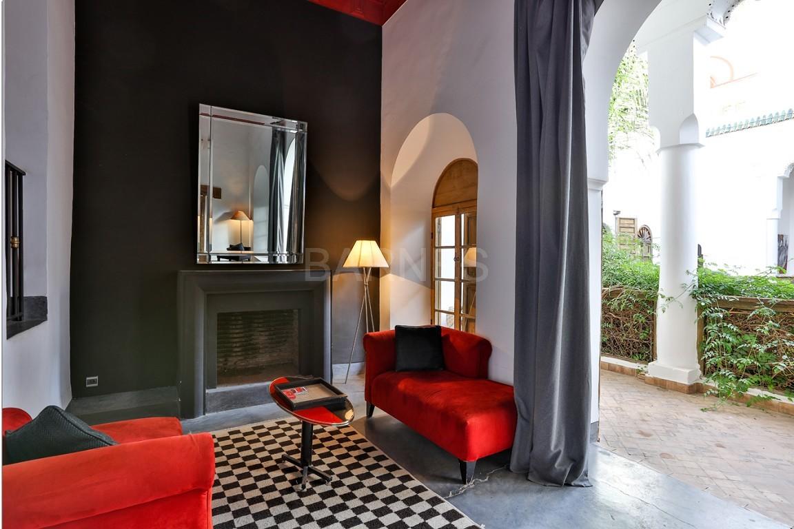 Riad maison d'hôtes, salon, salle à manger, 3 chambres, 3 suites, 6 salles de bains, piscine, terrasse picture 14