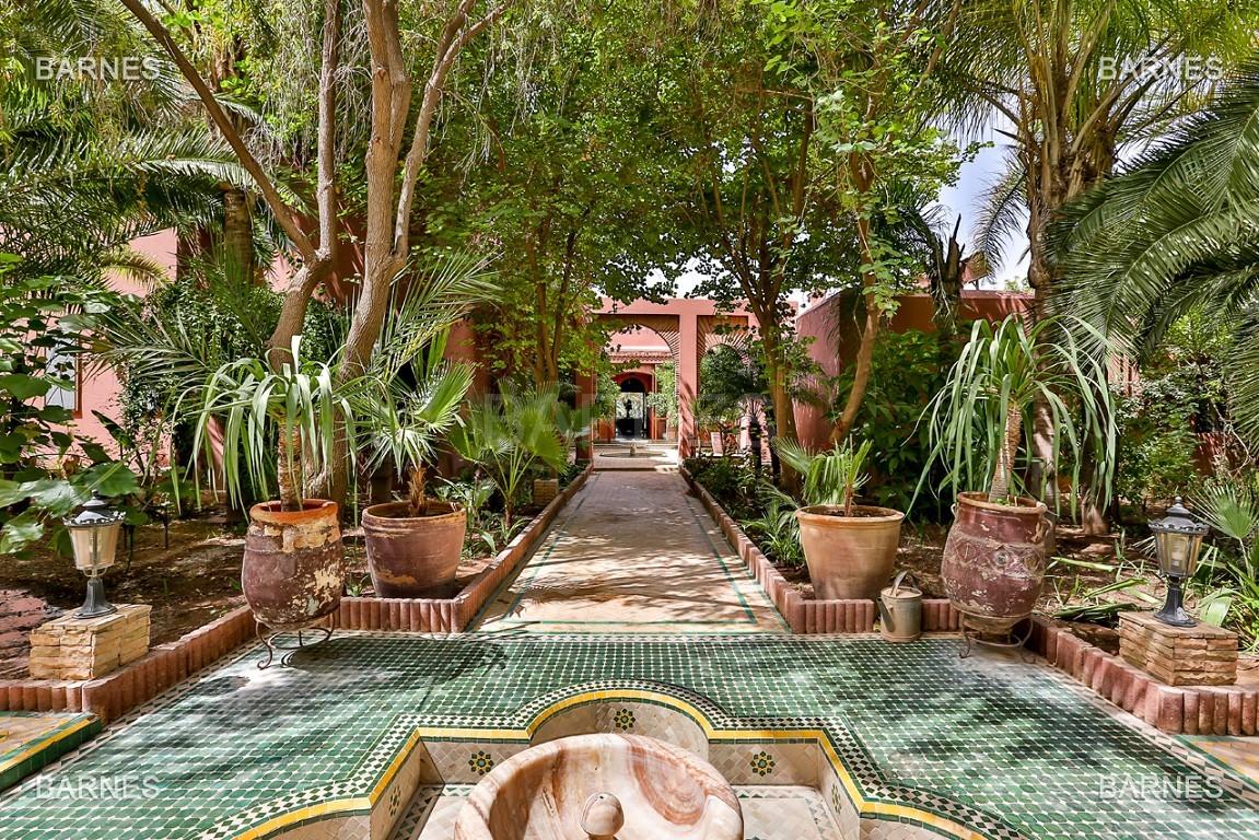 Très belle propriété a la palmeraie, véritable opportunité en terme de rapport qualité prix. 6 chambres un hectare de terrain arboré, dans la belle palmeraie , belle piscine. Matériaux noble marbre, boiserie en cèdres… picture 3