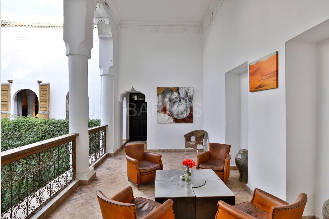 Riad maison d'hôtes, salon, salle à manger, 3 chambres, 3 suites, 6 salles de bains, piscine, terrasse picture 16