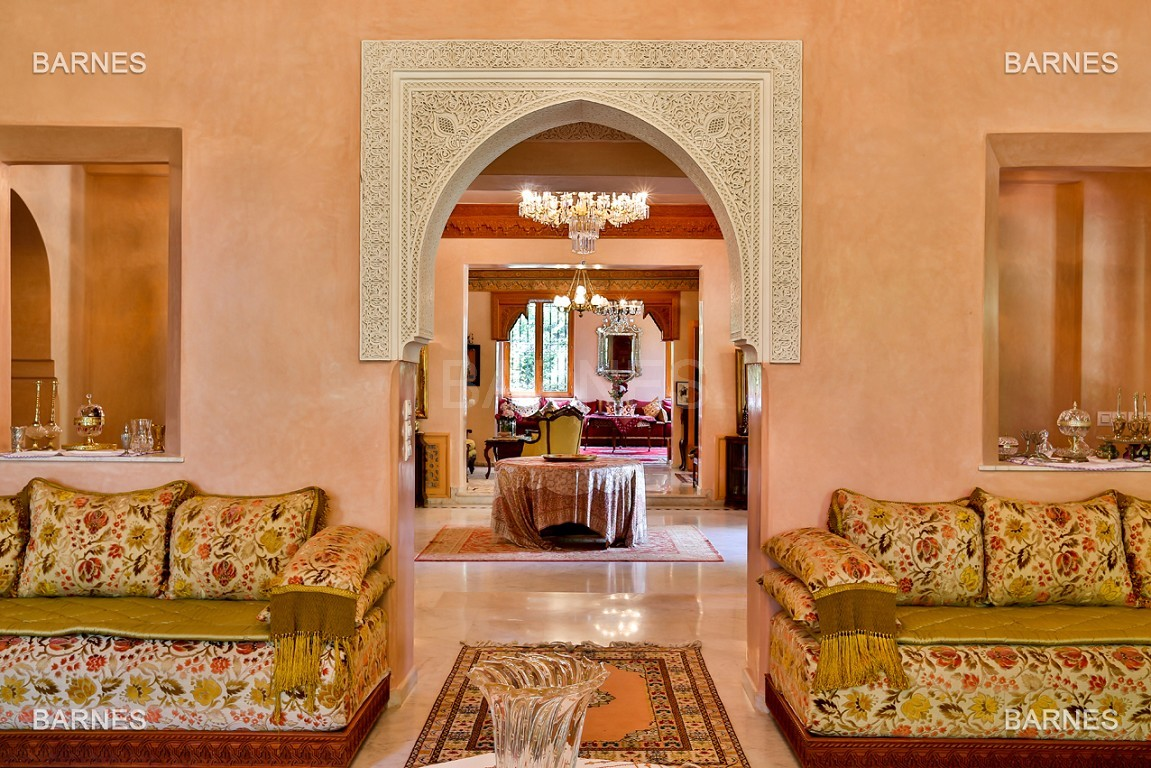 Très belle propriété a la palmeraie, véritable opportunité en terme de rapport qualité prix. 6 chambres un hectare de terrain arboré, dans la belle palmeraie , belle piscine. Matériaux noble marbre, boiserie en cèdres… picture 12