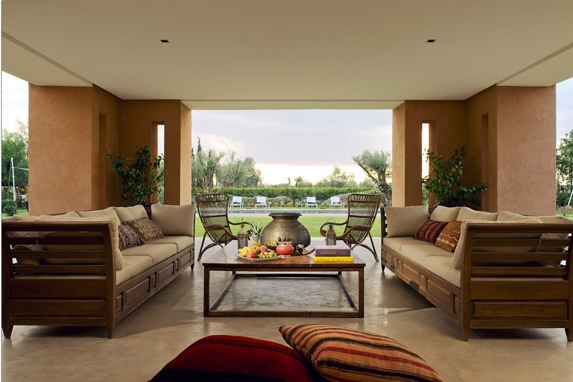 Nichée en première ligne du golf Al Maaden, cette tres belle propriété de luxe contemporaine abrite six chambres et suites au confort d'exception picture 5