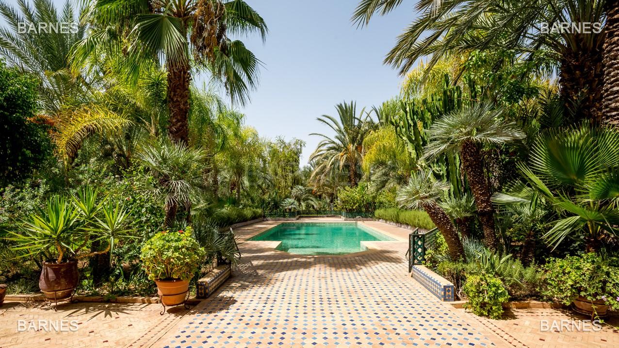 Très belle propriété a la palmeraie, véritable opportunité en terme de rapport qualité prix. 6 chambres un hectare de terrain arboré, dans la belle palmeraie , belle piscine. Matériaux noble marbre, boiserie en cèdres… picture 1