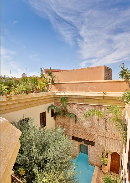 home Riad , heated patio , 2 living rooms , dining room , 5 bedrooms, 5 bathrooms , garage , patio picture 12