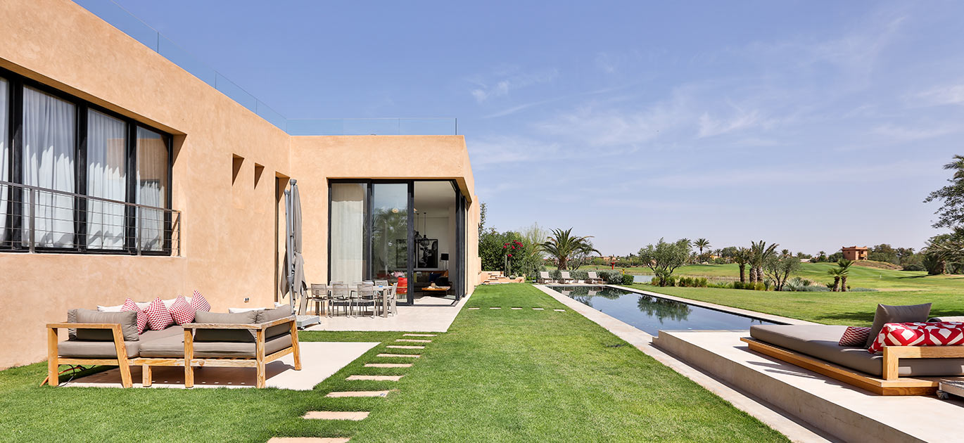 Marrakech - Morocco - Villas and Riads, 6 rooms, 4 bedrooms - Slideshow Picture 3