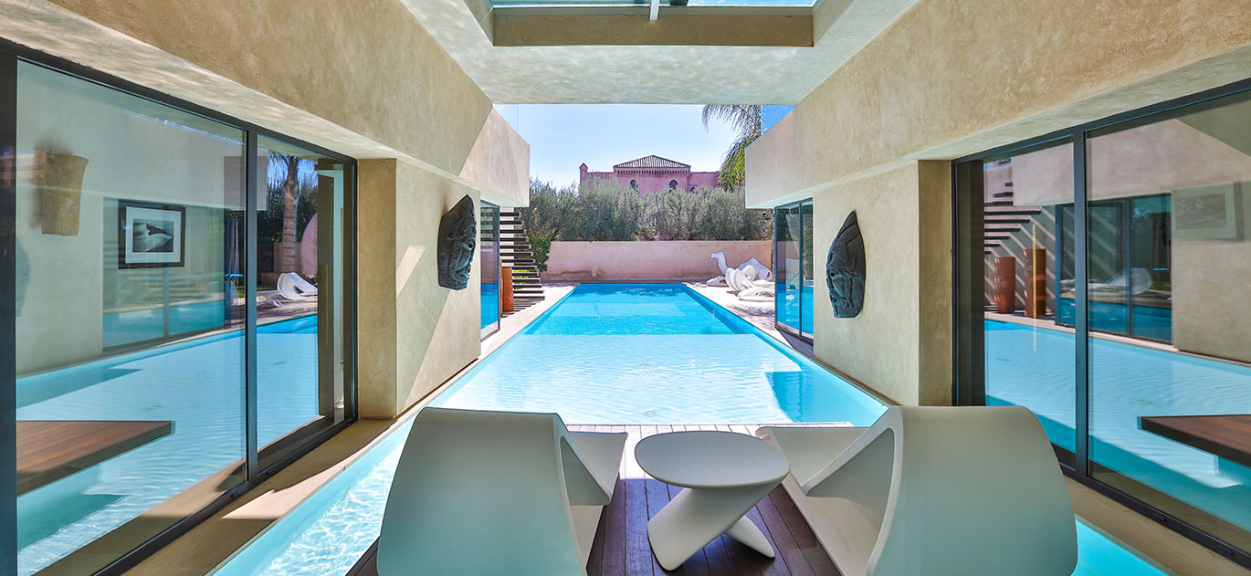 Marrakech - Morocco - Villas and Riads, 6 rooms, 4 bedrooms - Slideshow Picture 1