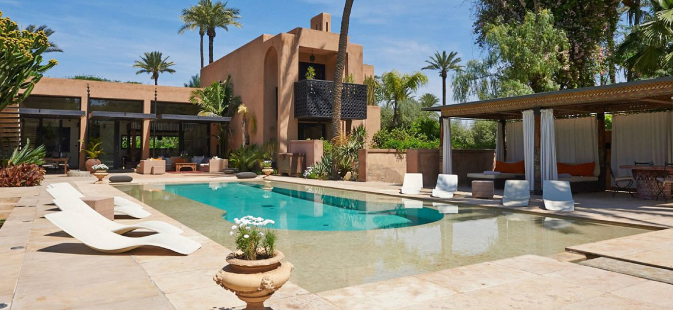 Marrakech - Morocco - Villas and Riads, 16 rooms, 11 bedrooms - Slideshow Picture 1