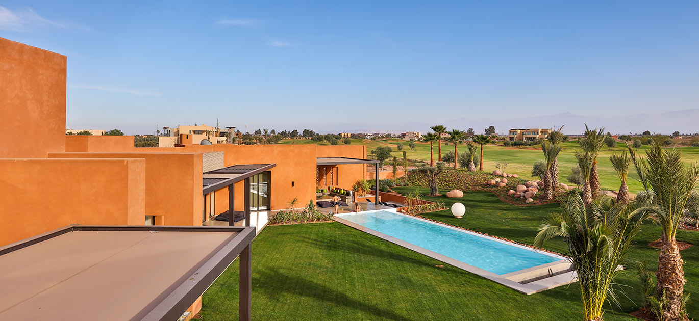 Marrakech - Morocco - Villas and Riads, 9 rooms, 5 bedrooms - Slideshow Picture 2