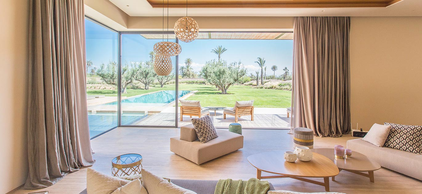Marrakech - Morocco - Villas and Riads, 7 rooms, 6 bedrooms - Slideshow Picture 1