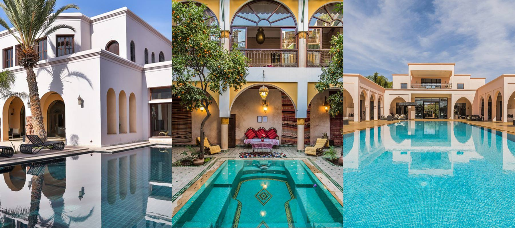 Marrakech villas de luxe